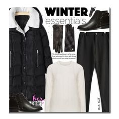 A fashion look from November 2016 featuring Zizzi sweaters and Burberry gloves. Browse and shop related looks.