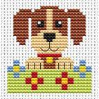 Sew Simple Dog Cross Stitch Kit