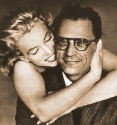 Marilyn Monroe and Arthur Miller. Even though it didn't work out, I LOVE this picture