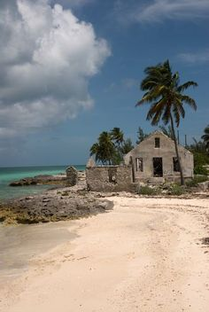 Cat Island, Bahamas I painted a picture of this ruin.