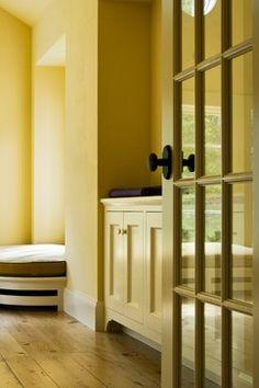 Derby Hill Farm Lyme NH - traditional - dining room - Burlington - Smith & Vansant Architects PC...trim/foot piece
