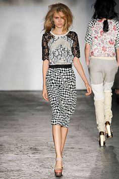 Clements Ribeiro. S/S 2012