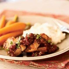 Spicy-Sweet Pork Tenderloin - A quick favorite - It's easier and just as good to use boneless chops.