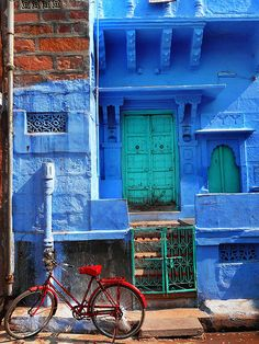 Jodhpur (Blue City), India.