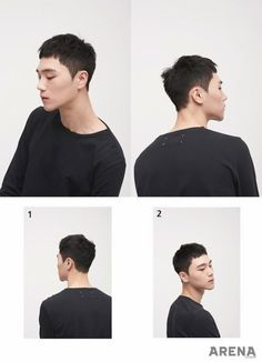 49 Cool New Hairstyles For Men 2019 Korean men hairstyle trend 2017 Asian Men Short Hairstyle, Asian Man Haircut, Trendy Haircut, Short Hairstyles For Thick Hair, Trendy Hairstyles, Short Hair Cuts, Short Hair Styles, Korean Haircut Men, Hair Styles Korean Men