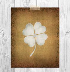 St. Patrick's Day Printable Art  Rustic by ScubamouseStudiosJr, $5.00