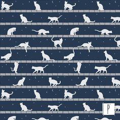 Tecidos com estampa exclusiva Cats #cats #everybodylovescat #catlovers