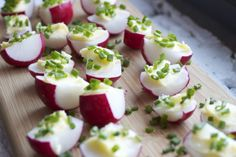 Radishes with Butter, Salt, and Chives (via marriahlavigne.com)