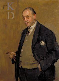 The Athenaeum - Portrait of Nehemia de Lieme (1929) (Isaac Israels - )