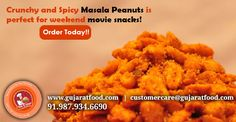 Crunchy and Spicy #MasalaPeanuts is perfect for weekend movie #snacks!! - @Gujaratfood