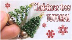 Christmas tree Tutorial - Beaded Christmas tree - DIY Christmas tree - B...