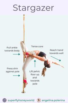 Pole Fitness Moves, Pole Dance Moves, Pole Dancing Fitness, Sport Fitness, Dance Tips, Pole Dancing For Beginners, Pool Dance, Pole Classes, Pole Sport