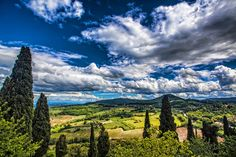 The view from Montepulciano by Carlos Chacon on 500px