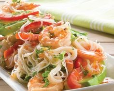 Chilli and Lime Prawn Salad