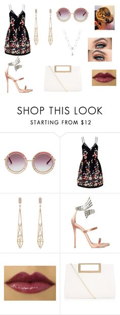 """""""Sem título #417"""" by sulamitajdb ❤ liked on Polyvore featuring The 2nd Skin Co., Monique Péan, Giuseppe Zanotti and New Look"""