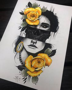 New drawing, available as a tattoo. Let me know, DM or e-mail. Dark Art Drawings, Pencil Art Drawings, Art Drawings Sketches, Cool Drawings, Arte Sketchbook, Arte Horror, Skull Art, Doodle Art, Art Inspo