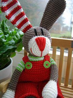 Hubert, the Xmas-Bunny ♥