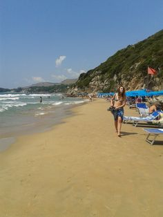 Le Scissure Beach Gaeta, Italy; spent many days on these beaches