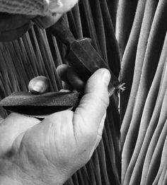 Between Waves sofa creation process by INSIDHERLAND.