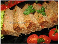 Drob de curcan cu orez Meatloaf, Food, Fine Dining, Meat Loaf, Eten, Meals, Diet