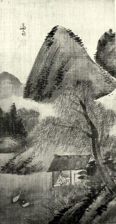 (Korea) Landscapes folder screens by Jeong Seon aka Gyeomjae. ca century CE. ink on paper. National Museum of Korea. Korean Painting, Chinese Painting, Asian Artwork, Mediums Of Art, Chinese Landscape, Korean Art, National Museum, Woodblock Print, Painting Inspiration