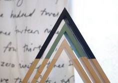 Triangle Wall Shelf Set - storage space in your living room, kitchen, dorm or in your office. Wooden Shelves, Wall Shelves, Shelf, Triangle Wall, Storage Spaces, Bubbles, Room Kitchen, Dorm, Living Room