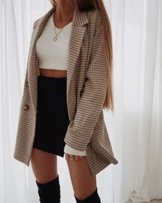 Casual Fall Outfits That Will Make You Look Cool – Fashion, Home decorating Look Fashion, Autumn Fashion, Fashion Outfits, Womens Fashion, Fashion Ideas, Fashion Clothes, Fashion Tips, Girl Fashion, Fashion Hacks
