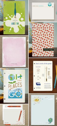 Back to School Journals Stationery