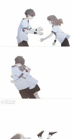 Anime Nail Polish nail polish with tea tree oil Anime Chibi, Kawaii Anime, Manga Anime, Anime Art, Manhwa Manga, Anime Couples Drawings, Anime Couples Manga, Anime Kiss, Anime Demon