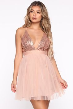 Available In Black And Taupe. Black Party Dresses, Fall Dresses, Dance Dresses, Cute Dresses, Fashion 2020, Girl Fashion, Fashion Dresses, Vestido Rose Gold, Mexico Dress