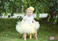 Check out this item in my Etsy shop https://www.etsy.com/listing/100877316/yellow-tutu-set-yellow-tutu-baby-tutu