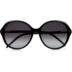 Chloé Round-frame acetate sunglasses ($114) ❤ liked on Polyvore
