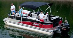 Spacious, stylish and well appointed, Lowe's all-new Retreat luxury & sport pontoon is your oasis on the water. Deck Boats For Sale, Lowe Boats, Fishing Pontoon Boats, Lowes, Pontoons, Pontoon Boats, Lowes Creative