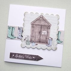 Craftwork Cards Blog: Potting Shed II by Kath Woods