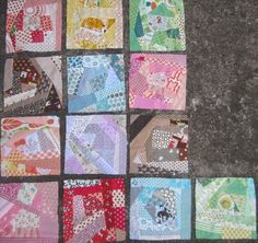 sewpony: Scrappy quilt - Part IV