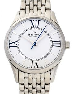 Watchmaster.com - Zenith Elite 03.2310.679/38.M2310 Men's Watches, Luxury Watches, Watches For Men, Watch Companies, Men's Apparel, Stuff To Buy, Fashion, Fancy Watches, Moda