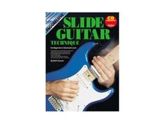Progressive Slide Guitar Technique - CD CP18359 - BC Wholesalers A easy to follow guide,introducing all the important techniques required to play Slide Guitar.Includes Damping,Fretting,Sliding,Vibrato,Slide Scales and Open tunings.Contains over 50 exercises