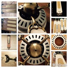 DIY Ceiling Fan Reconditioned