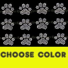 buy 2,get 1 free CHOOSE COLOR-Set of 16 small hearts rhinestone iron on bling