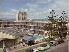 1960s Sea Breeze Motel in Surfers Paradise Gold Coast, QLD. I think it faced the beach.