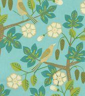 Home Decor Upholstery Fabric-Waverly Small Talk / Mint Julep