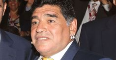 Band of God as Argentina football legend Maradona leaves plastic surgery clinic with chin strap