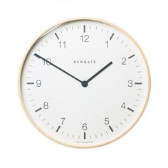 This beautifully crafted, minimalistic wall clock will fit in perfectly wherever you hang it. Easy to read, fun to look at, and a piece you can restyle for years to come.
