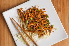 DINNER IN 25 MINUTES | Stir-fry with an easy sauce and a little ground pork.