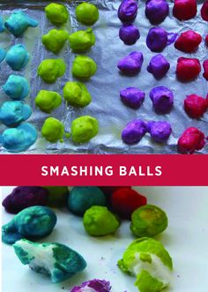 This creative and crazy kids' activity will leave your little ones laughing for more. Create these smashing balls in a few simple steps for a unique indoor activity that everyone will love!