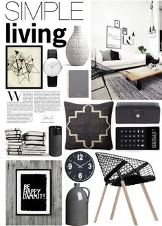 """""""Simple Living"""" by emmy on Polyvore"""