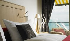 Our Junior Suite Prestige come in darker and brighter tone. Dream Hotel, Above The Clouds, The Prestige, Rooms, Curtains, Home Decor, Bedrooms, Blinds, Decoration Home