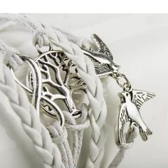 Infiniti tree birds bracelet bangle About 17 cm long and can be extended to 21cm. Real pretty Jewelry Bracelets