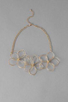 Sydney Floral Statement Necklace