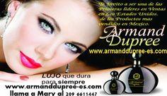 www.armanddupree-es.com contactanos ya! se parte de nuestro equipo de lideres  armanddupree.es@gmail.com llama ya! 209 6611447